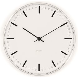 Arne Jacobsen Clocks City Hall vægur