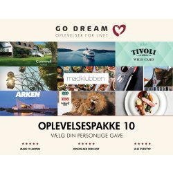 Go Dream Gavepakke 1000 kr.
