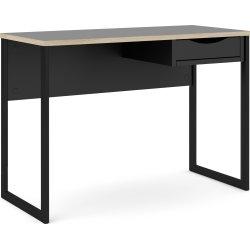 BudgetLine Skrivebord, 110x48,4 cm, sort