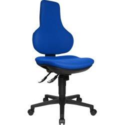 Ergo point kontorstol blå
