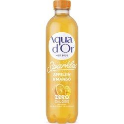 Aqua d'or Sparkles Appelsin & Mango, 0,5 L