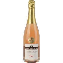 Cremant D'Alsace Brut Rosé, mousserede