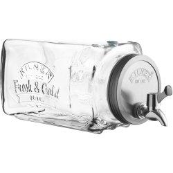 Kilner køleskabsdispenser, 3 liter