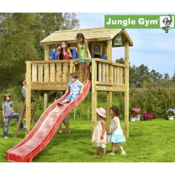 Jungle Gym Legehustårn XL ekskl. Rutschebane