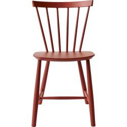 J46 Spisebordstol, Rød