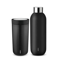 Stelton Keep Cool flaske & To Go termokop