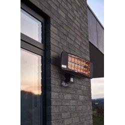 Scandinavia Terassevarmer til væg, sort
