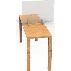 Skrivebords hygiejneskrærm 41,8 x 61 cm