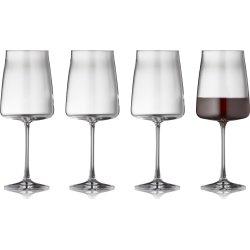 Lyngby Glas Zero Rødvinsglas 54 cl, 4 stk