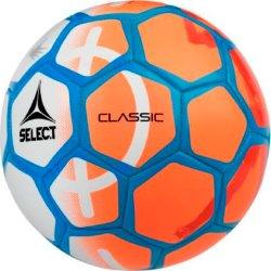 Select Classic fodbold, str. 5, hvid/orange