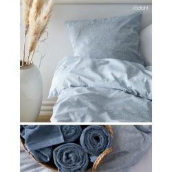 Södahl 2 stk. Sengesæt, 140x200 og håndklæder, Blå