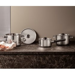 Eva Solo Nordic Kitchen grydesæt, 6 dele