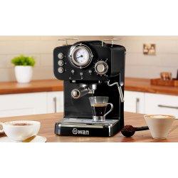 Swan Espressomaskine, sort