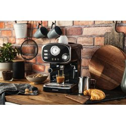 Gastroback Espressomaskine, Sort