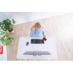 Sun-Flex Elite Hæve/sænkebord, 120x70cm, hvid/hvid
