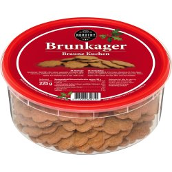 Nordthy Brunkager i dåse, 225 g