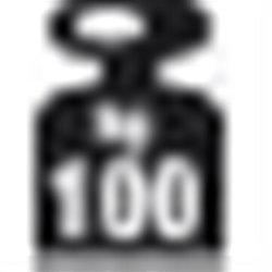 META Fix 100 kg, 250x100x60, Tilbyg, Pulverlak