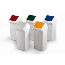 Affaldsspand 40 l, 590x320x360 mm, Hvid