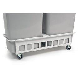Transportvogn 2 stk. affaldsspand 90 liter