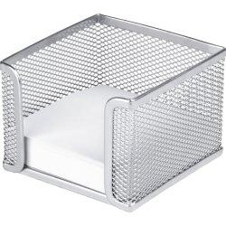 Office firkantet memoholder, sølv