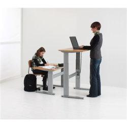 Flexo hæve/sænkebord 180cm m/centerbue bøg