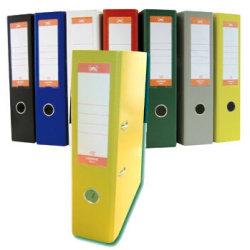 Lomax brevordner A4, 75mm, gul