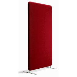 Abstracta softline skærmvæg rød B120xH170 cm