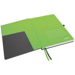 Leitz Complete notesbog A4, linjeret, sort
