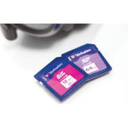 Verbatim SDXC 64GB Class 10 hukom. kort