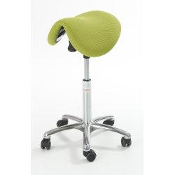CL Pinto sadelstol, grøn, stof, 58-77 cm