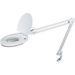SMD Luplampe i hvid, med bordklemme