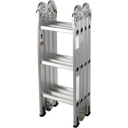 Multistige 4x3 trin inkl. platform og hylde