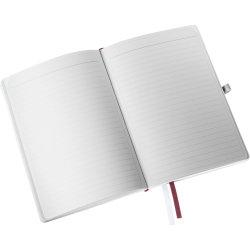 Leitz Style Notesbog A5, linjeret, rød