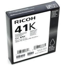 Ricoh 41K/405761 blækpatron, sort, 2500 s.