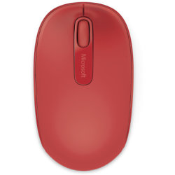 Microsoft Wireless Mobile Mouse 1850, rød