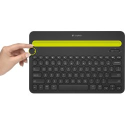 Logitech K480 BT Multi-Device keyboard, sort