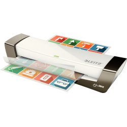 Leitz Lamineringsmaskine iLAM Office A4 hvid/grå