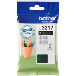 Brother LC3217BK blækpatron, sort, 550s