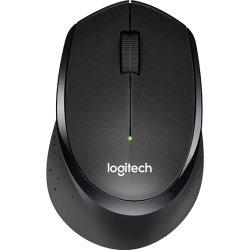 Logitech B330 Silent Plus mus, sort