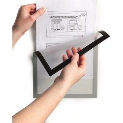 Durable DURAFRAME Magnetic, A5, sølv, 5 stk.