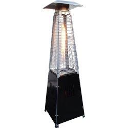 "Terrassevarmer ""LUX MINI"" 3 kW, H:90 cm, sort"