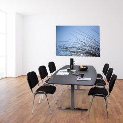 Casa Basic konferencesæt, 220x110/90 cm, linoleum