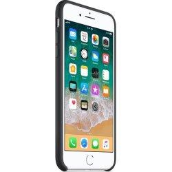 Apple iPhone 8 Plus silikone cover, sort