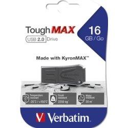 Verbatim USB 2.0 ToughMAX 16GB, sort