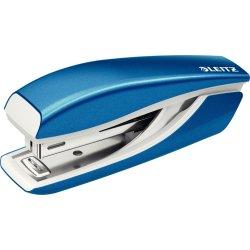 Leitz WOW Mini hæftemaskine, blå metallic