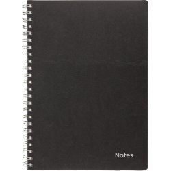 Mayland A5 notesbog, sort, refill