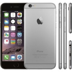 Brugt Apple iPhone 6, 64GB spacegrey (B)