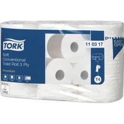 Tork T4 Premium toiletpapir, 3-lags, 42 ruller