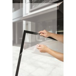 Durable Poster Sun Magnetramme A2, sort