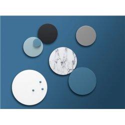 NAGA Nord magnetisk glastavle, 25 cm, grå